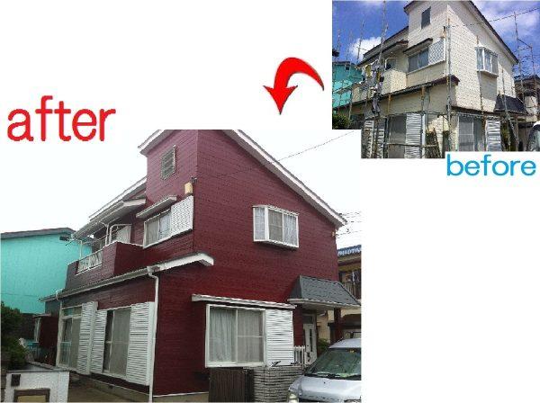 八千代市 外壁屋根塗装工事 S様邸