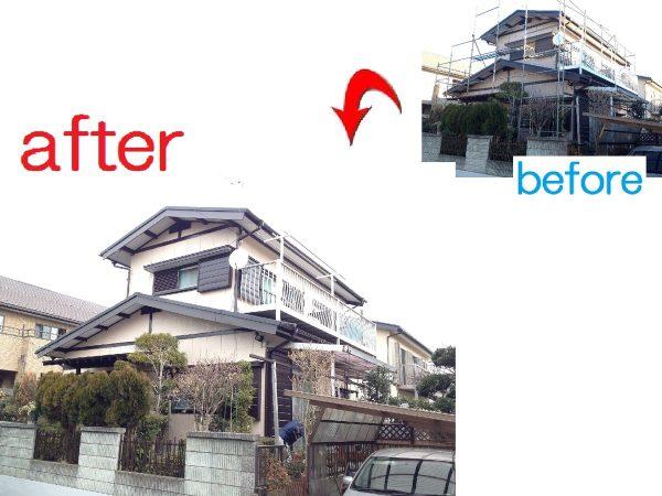 千葉市若葉区 外壁屋根塗装工事 K様邸