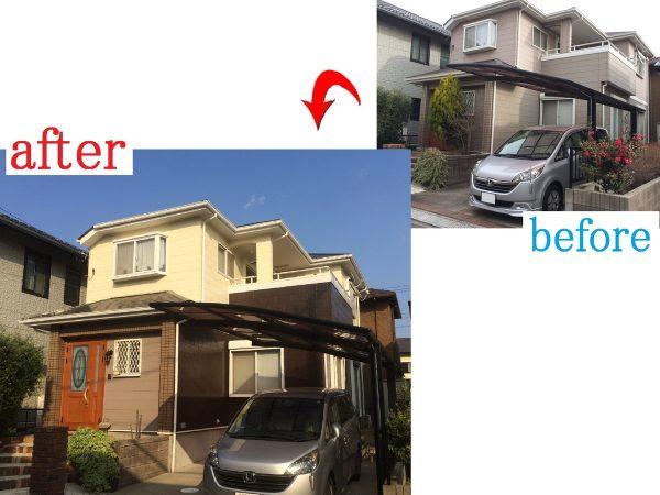 千葉市若葉区 外壁屋根塗装工事 H様邸