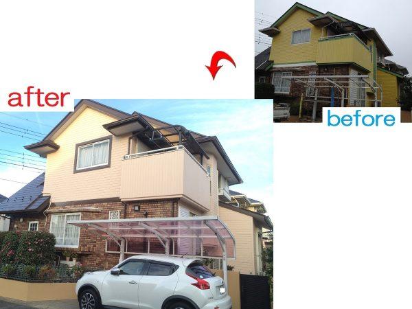 佐倉市 外壁屋根塗装工事 S様邸