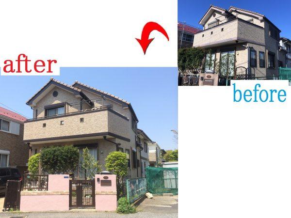 千葉市若葉区 外壁塗装工事 H様邸
