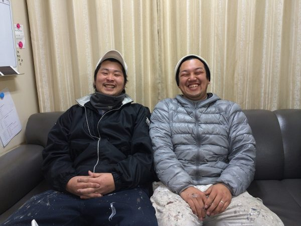 作新建装の職人スタッフ紹介