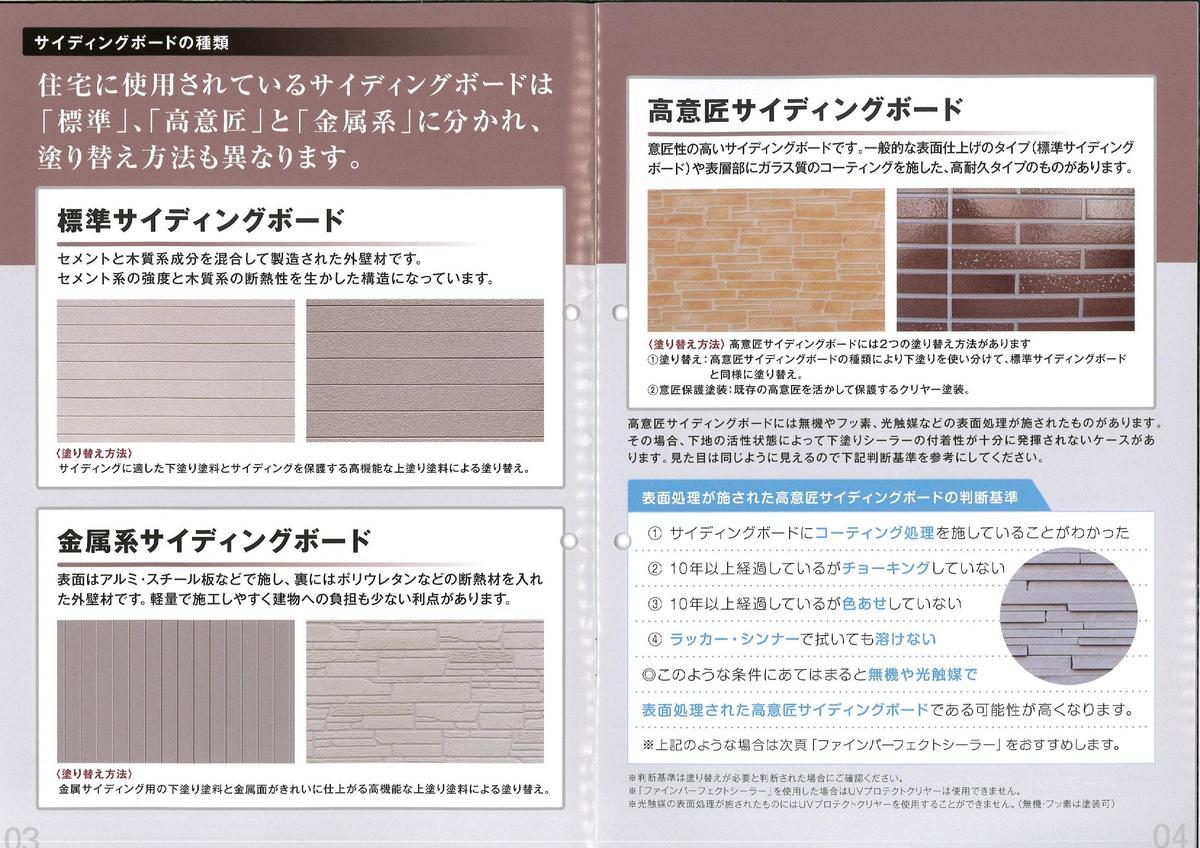 窯業系サイディングボード