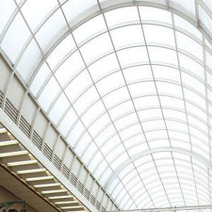 アーケードの屋根