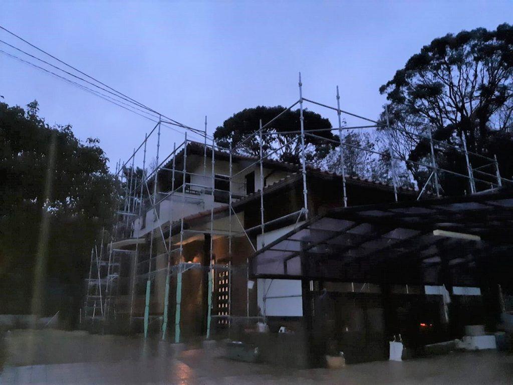 外壁塗装 屋根重葺 シーリング バルコニー防水 足場仮設