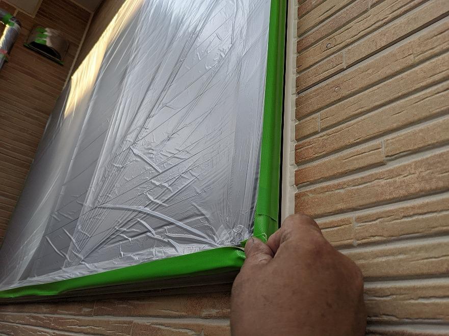 外壁塗装 屋根塗装 養生