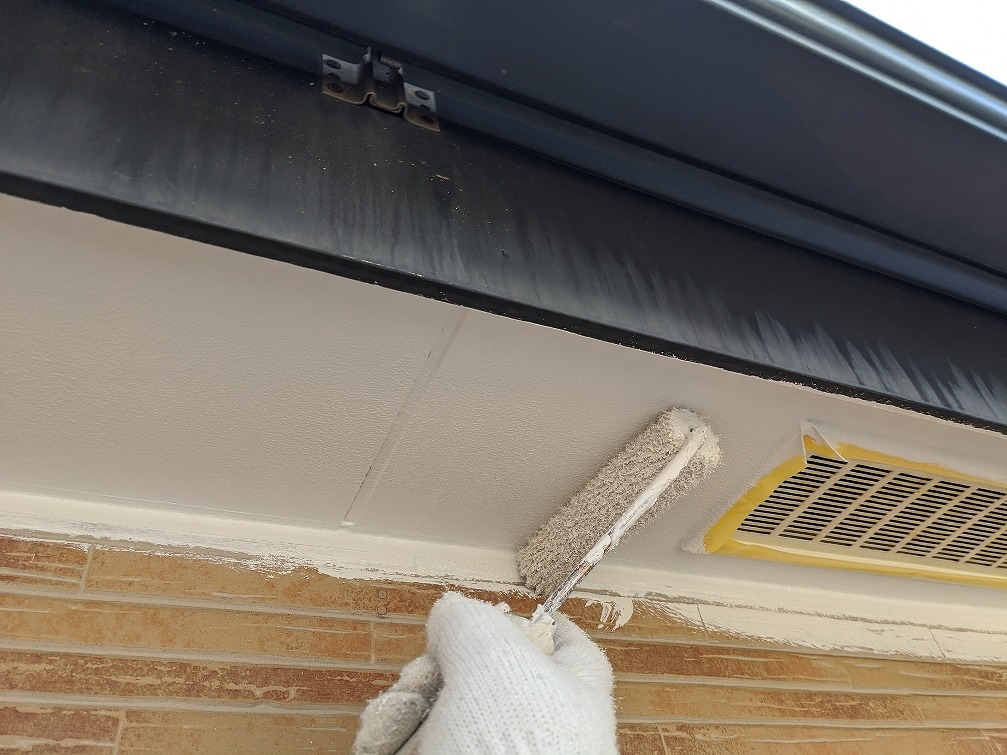 付帯部塗装 軒天井 マルチエース