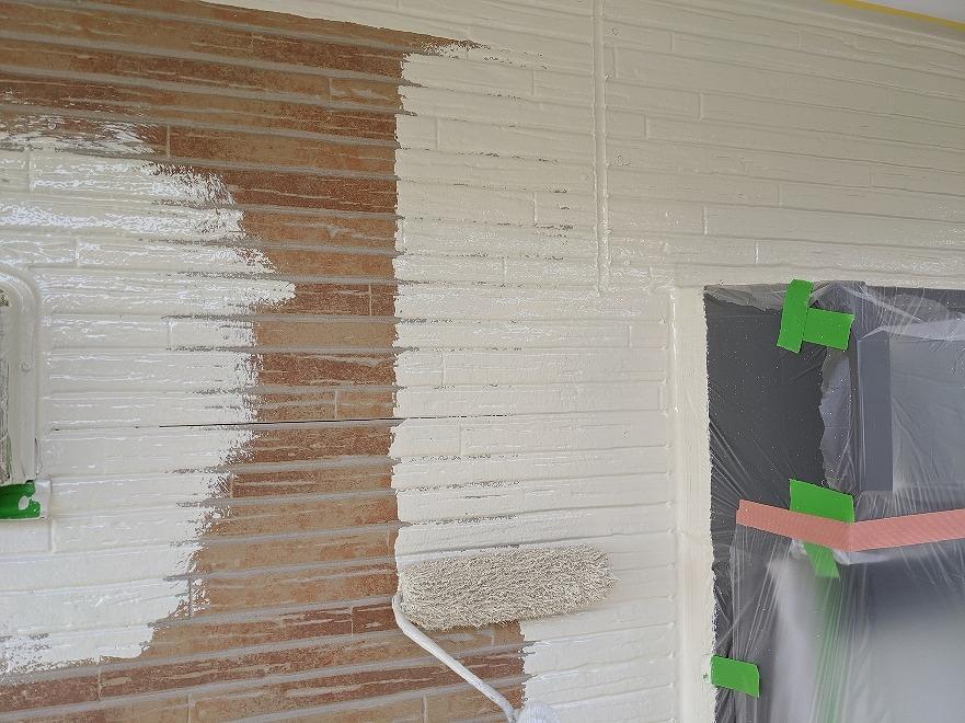 外壁塗装 下塗り プラチナ無機バインダー
