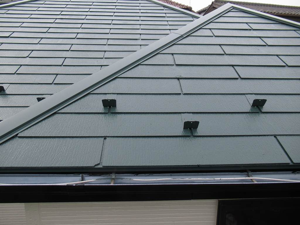 検査 屋根塗装