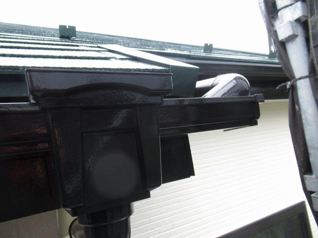 検査 付帯部塗装 雨樋 破風
