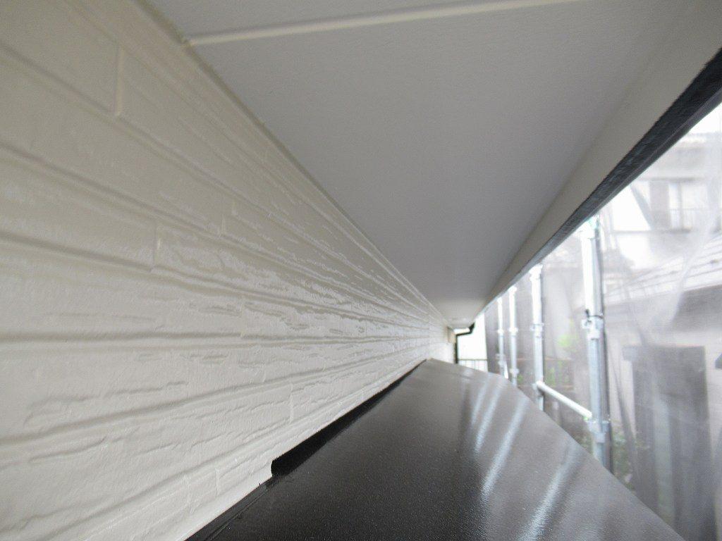 検査 付帯部塗装 軒天井
