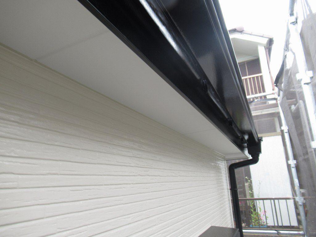 検査 外壁塗装 軒天井