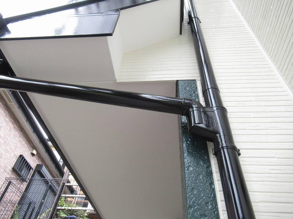 検査 外壁塗装 付帯部塗装 雨樋