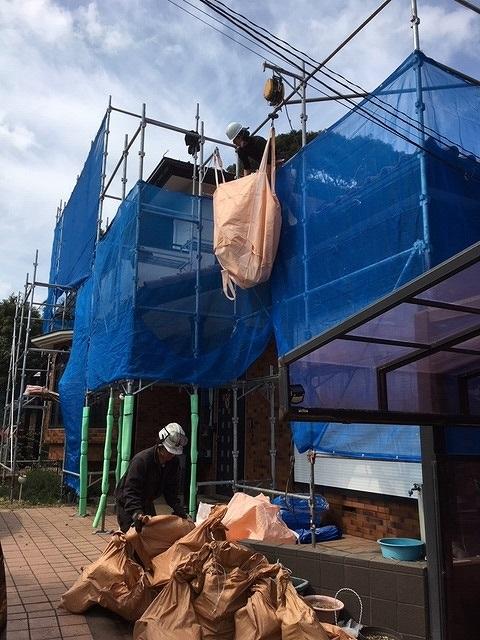 屋根重葺 産廃処理