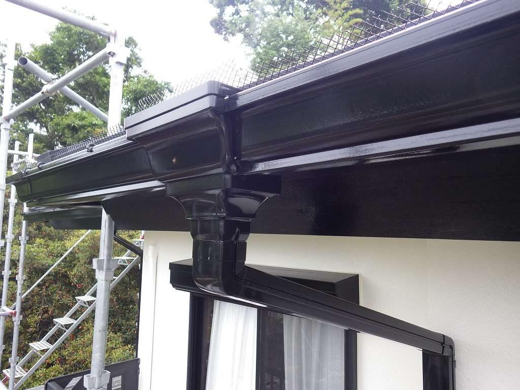 検査 付帯部塗装 雨樋