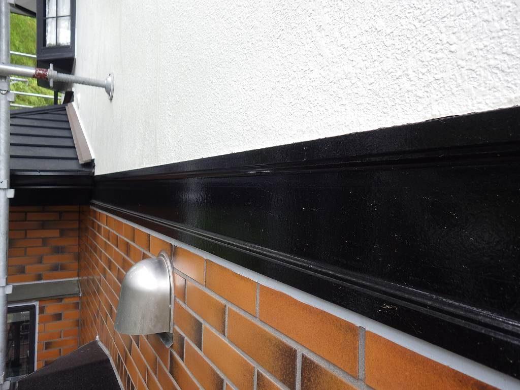 検査 外壁塗装 タイル塗装 幕板