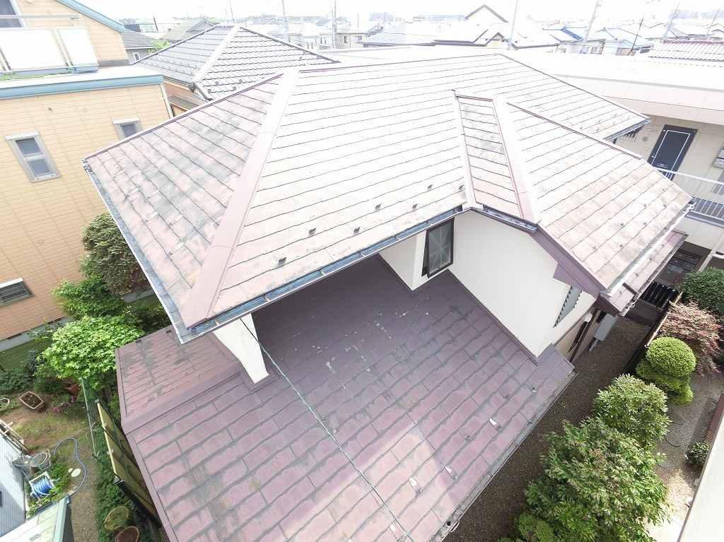 現場調査 屋根