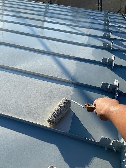 屋根塗装 中塗り プラチナルーフバインダー