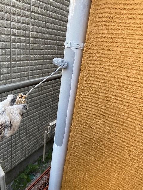 付帯部塗装 雨樋 ファインパーフェクトトップ