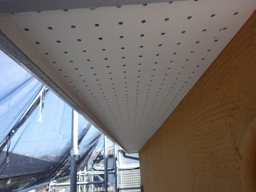 検査 付帯部 軒天井