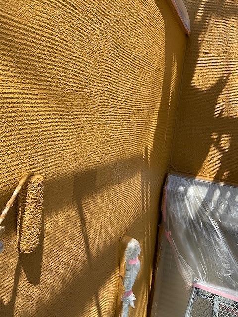 外壁塗装 上塗り スズカビーズコート