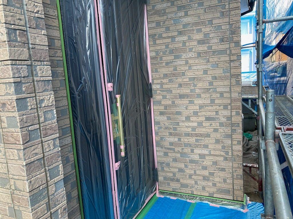 養生 外壁塗装 シーリング