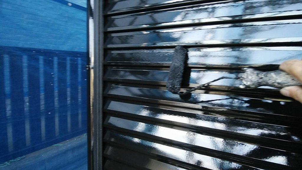 付帯部塗装 雨戸 鉄部 ファインパーフェクトトップ