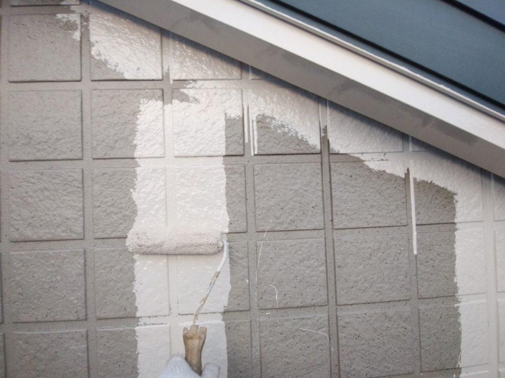 外壁塗装 中塗り ファインパーフェクトトップ