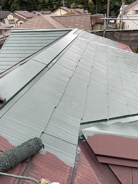 屋根塗装 下塗り プラチナルーフバインダー