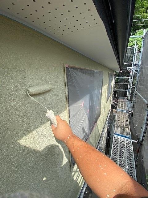 外壁塗装 上塗り アレスダイナミックトップ