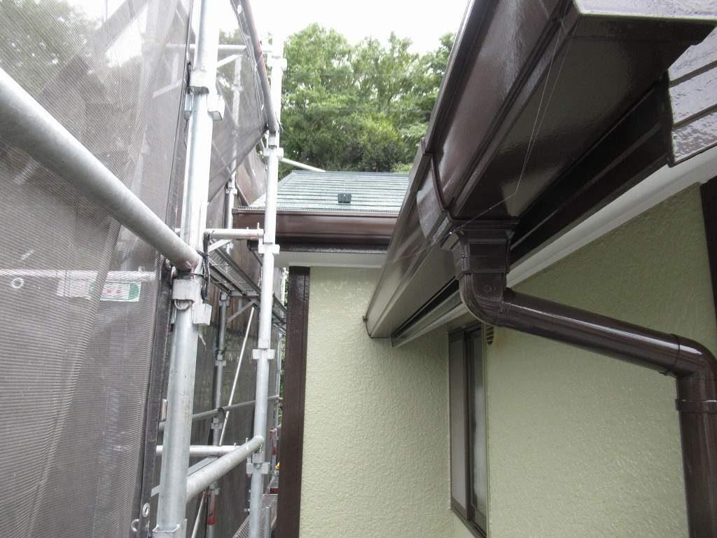 検査 外壁 雨樋