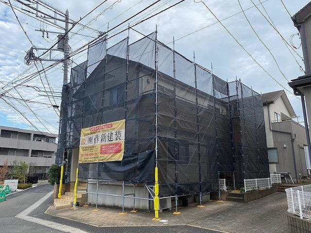 足場 外壁塗装 屋根塗装 付帯部塗装 防水 シーリング
