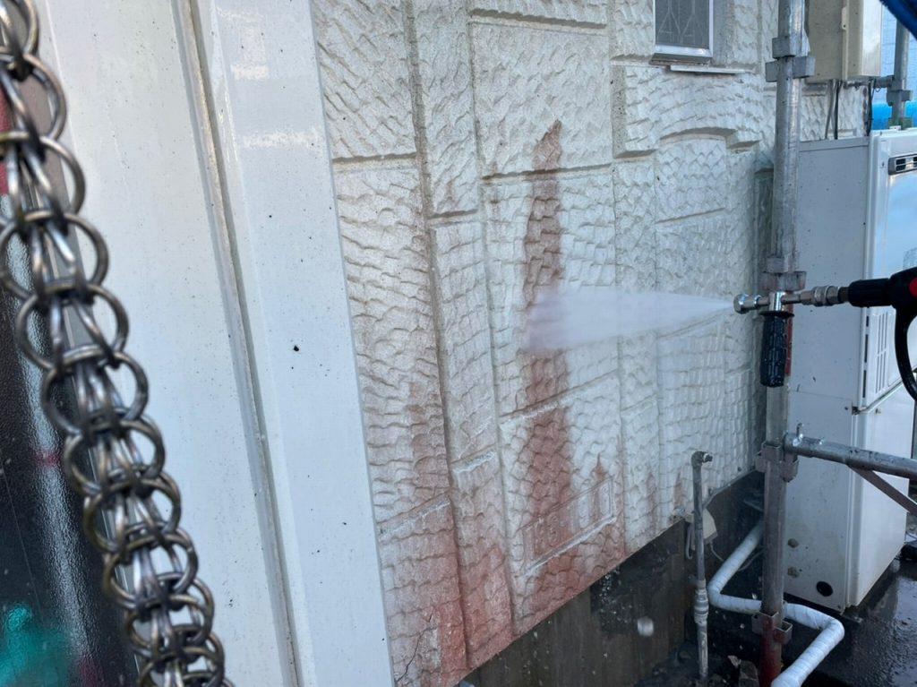 高圧洗浄 外壁塗装 屋根塗装 付帯部塗装 防水