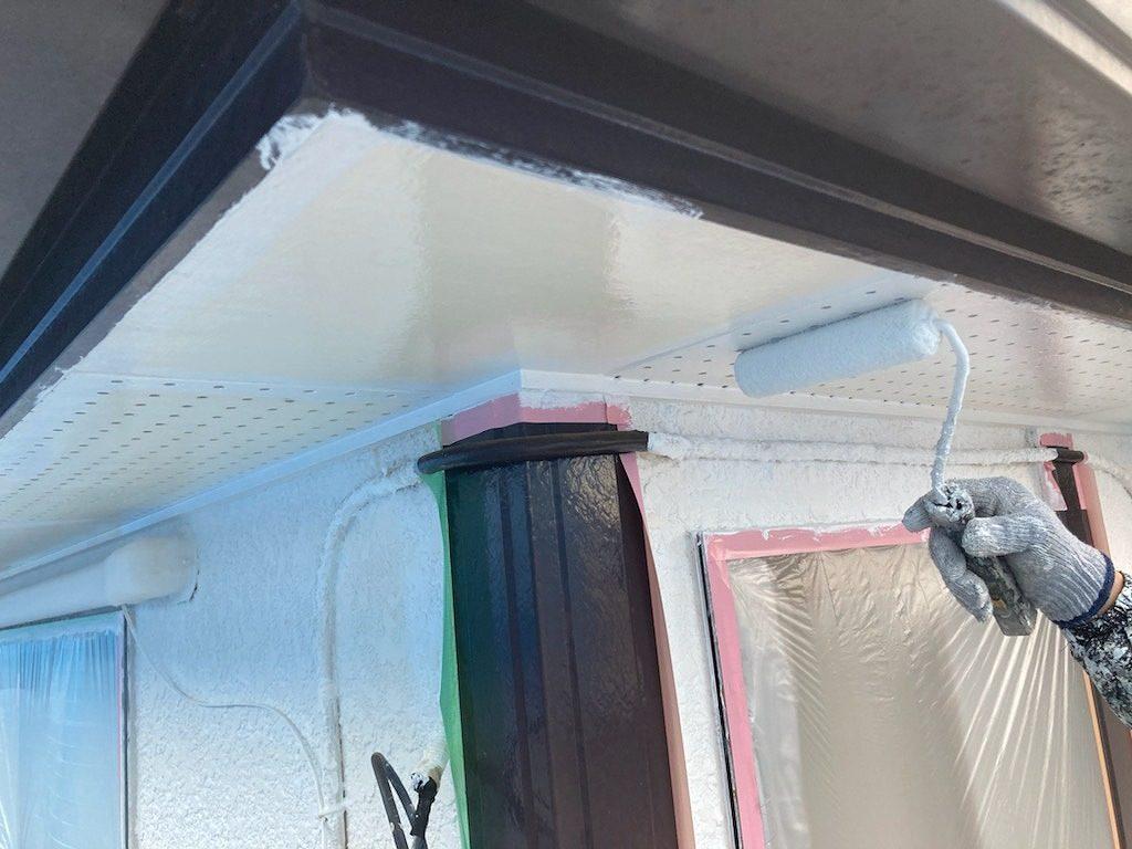 付帯部塗装 軒天井 ファインパーフェクトトップ