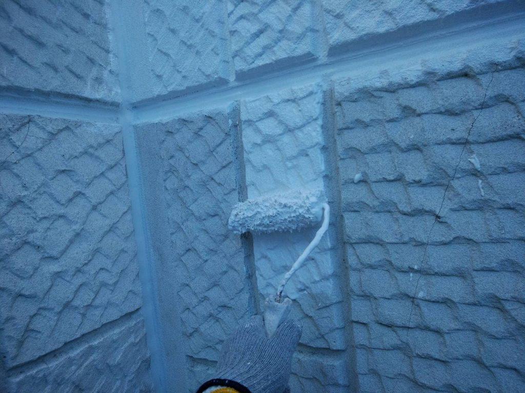 外壁塗装 中塗り アレスダイナミックTOP