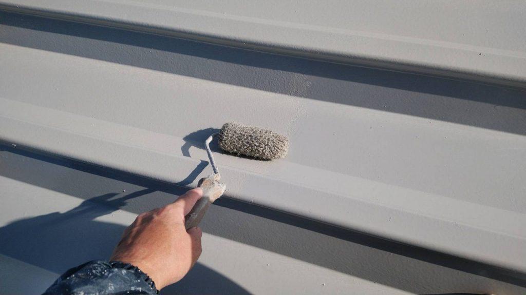屋根塗装 上塗り シリコンルーフⅡ
