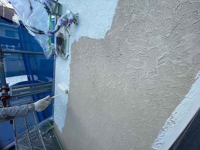 外壁塗装 モルタル 中塗り ビーズコートフレッシュ