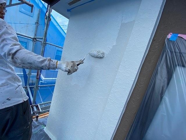 外壁塗装 モルタル 上塗り ビーズコートフレッシュ
