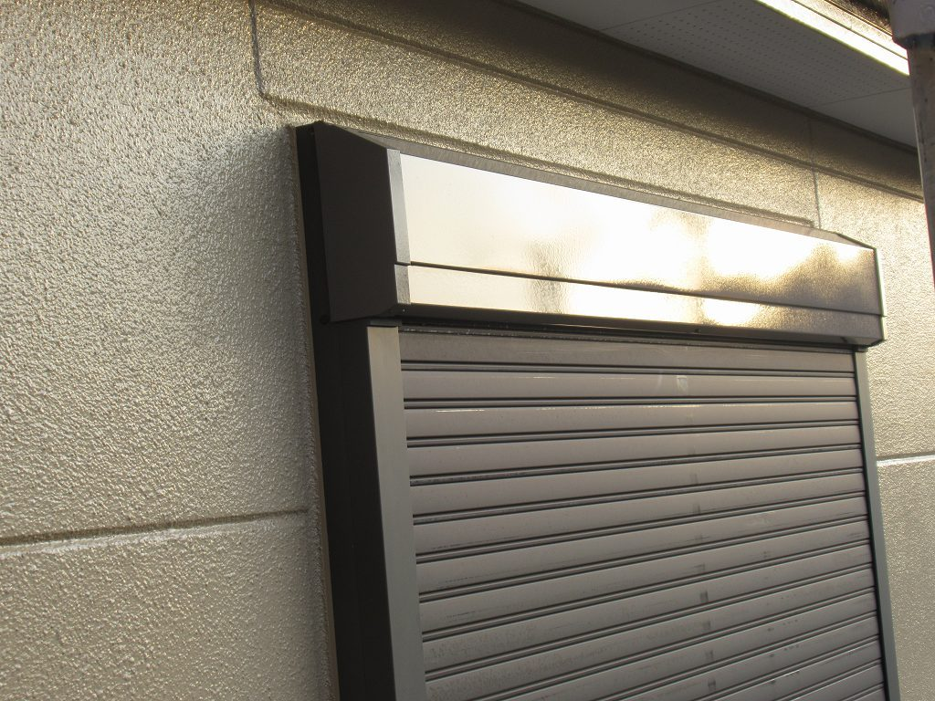 検査 鉄部 シャッター 外壁