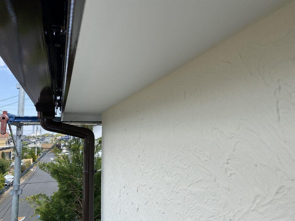 検査 軒天井 ボード 外壁 モルタル