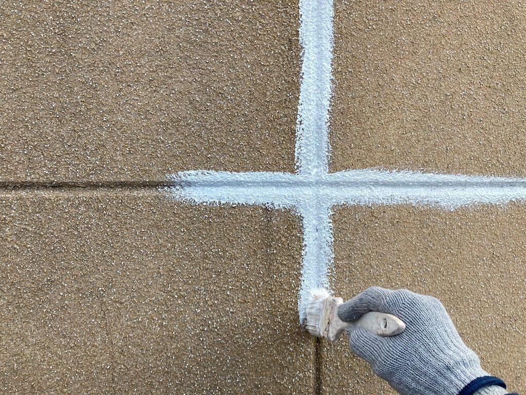 外壁塗装 下地調整 下塗り アレスダイナミックフィラー