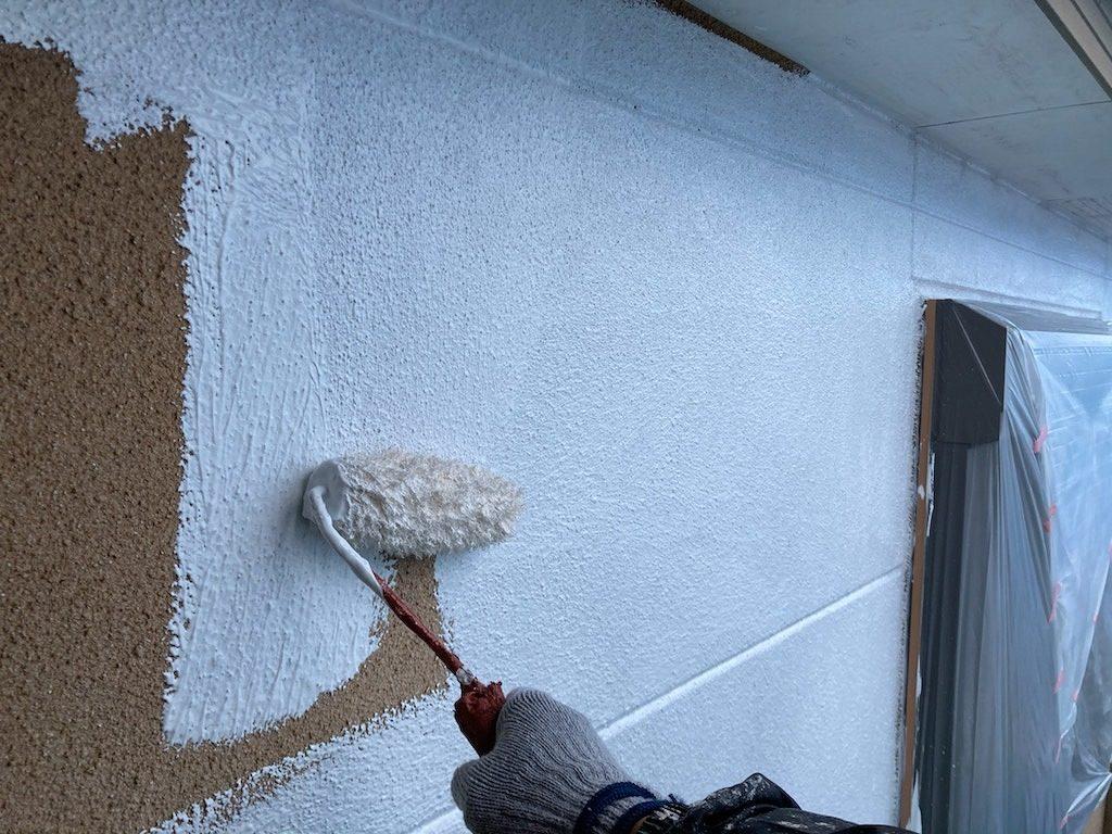 外壁塗装 中塗り プラチナ無機バインダー