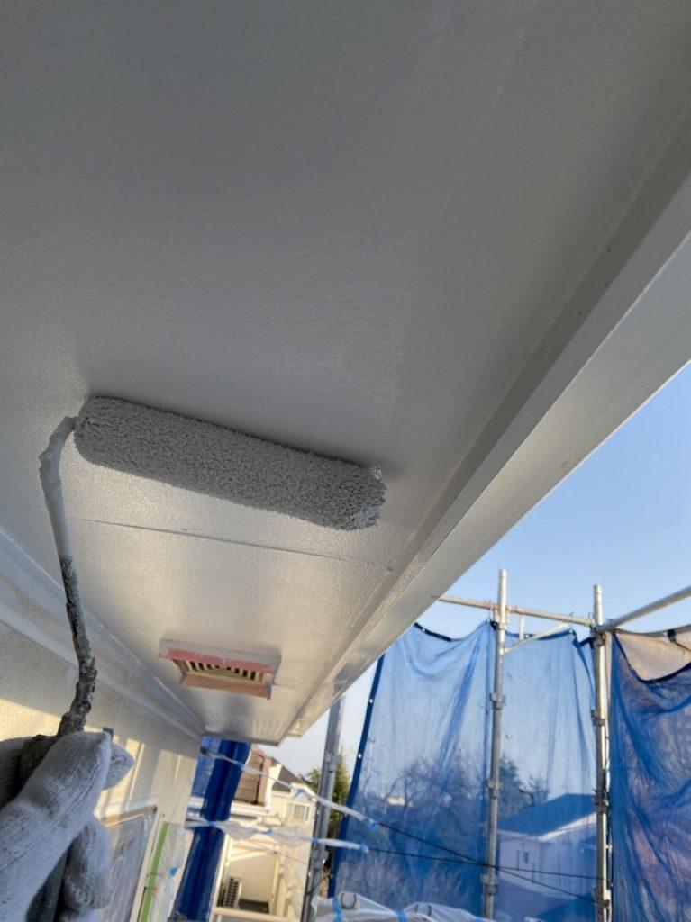 付帯部塗装 軒天井 ボード マルチエース