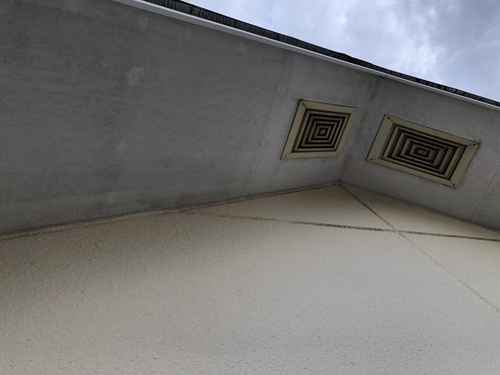 診断 軒天井 汚染