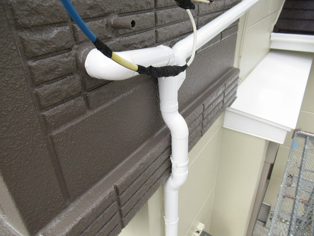 検査 外壁 ALC 雨樋