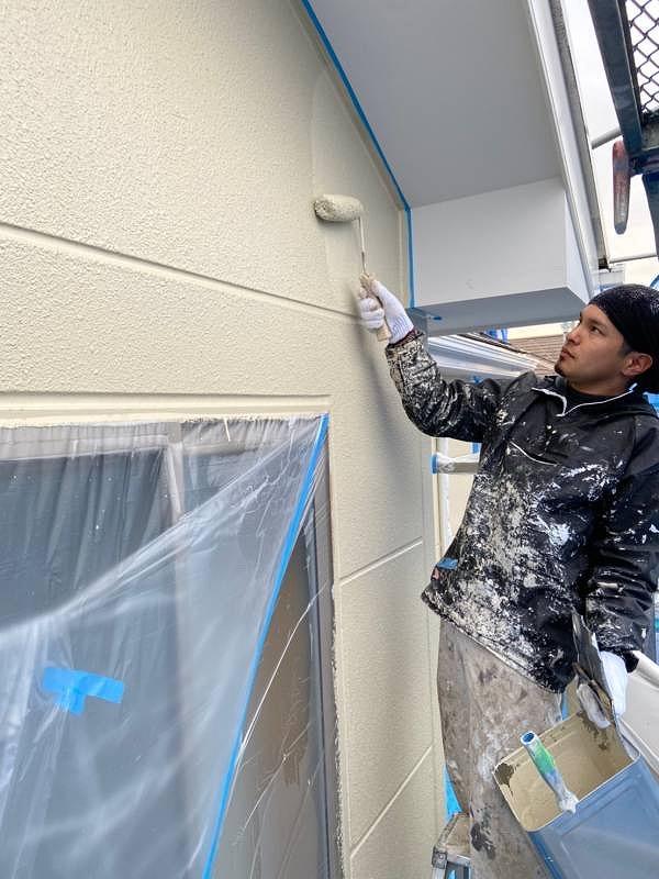 外壁塗装 ALC 上塗り プラチナ無機コート