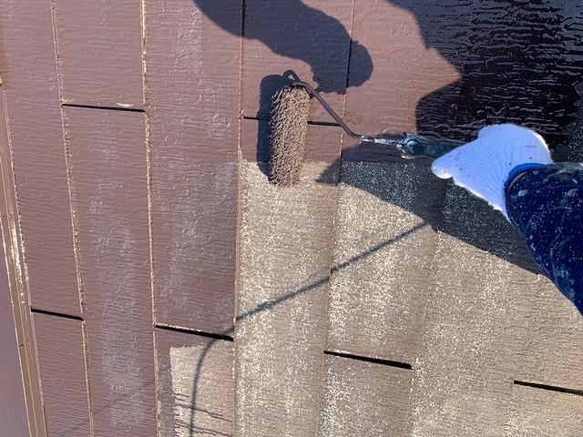 屋根塗装 スレート瓦 下塗り プラチナルーフバインダー