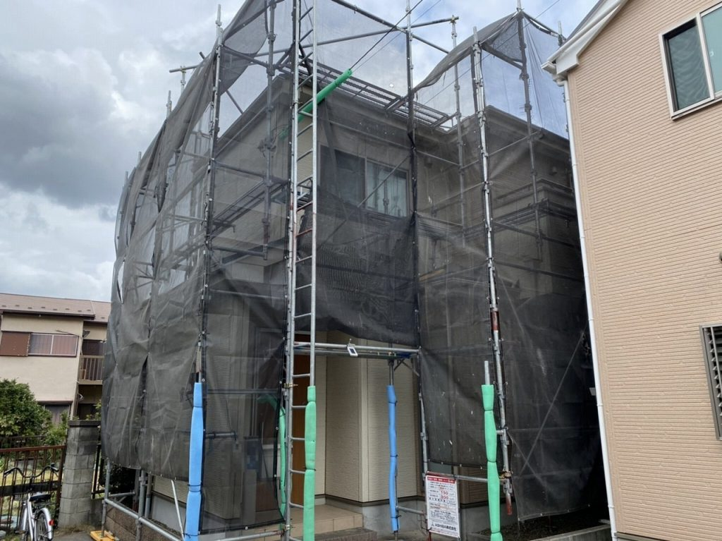 足場 外壁塗装 屋根塗装