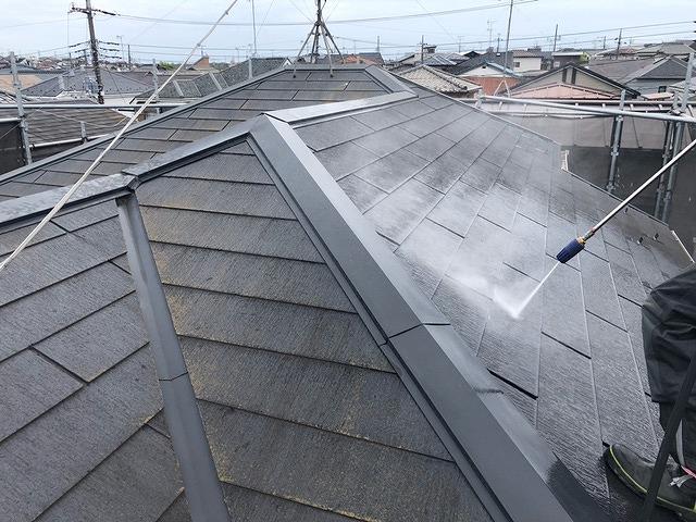 高圧洗浄 屋根塗装 外壁塗装