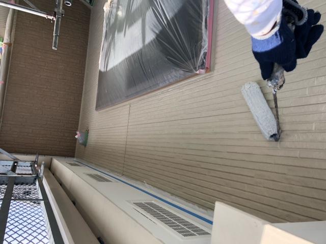 外壁塗装 窯業サイディング 下塗り 浸透シーラー